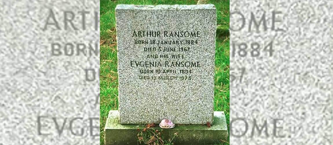 Arthur Ransome 1884-1967. St Paul's Church, Rusland